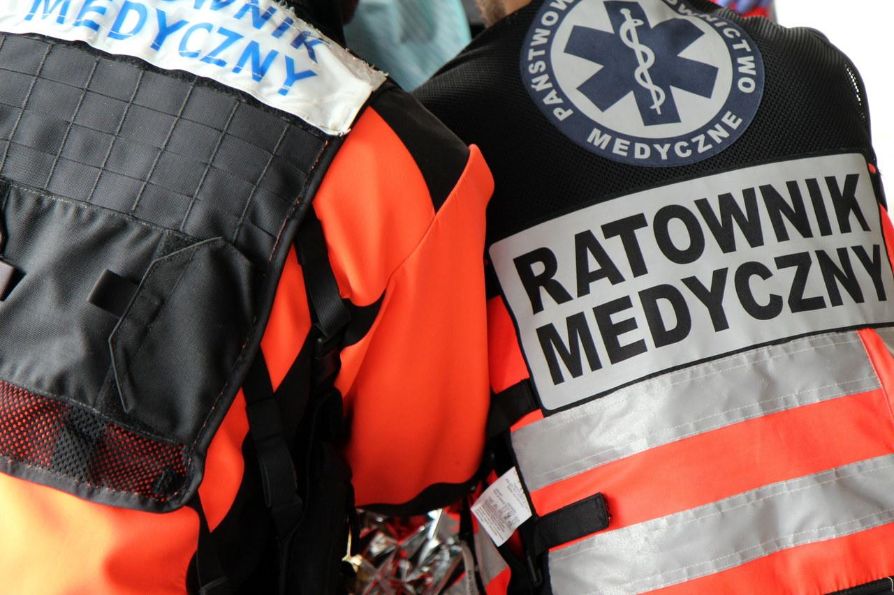Wypadek na nasypie kolejowym w Zabrzu. Ciężko ranny 14-latek