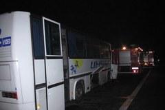Wypadek na obwodnicy Krakowa