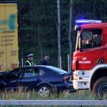 Wypadek na S17. Trzy osoby są ranne
