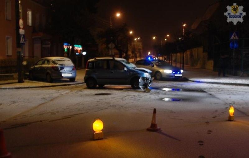 Wypadek na skrzyżowaniu /KWP Gdańsk