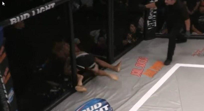Wypadek na Super Fight League /SFL/YouTube /