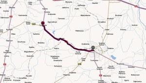 Wypadek na trasie 72 Konin - Łódź; pięć osób zginęło