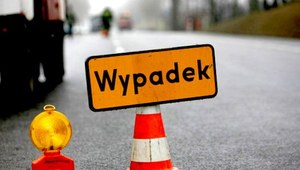 Wypadek na trasie Warszawa - Lublin