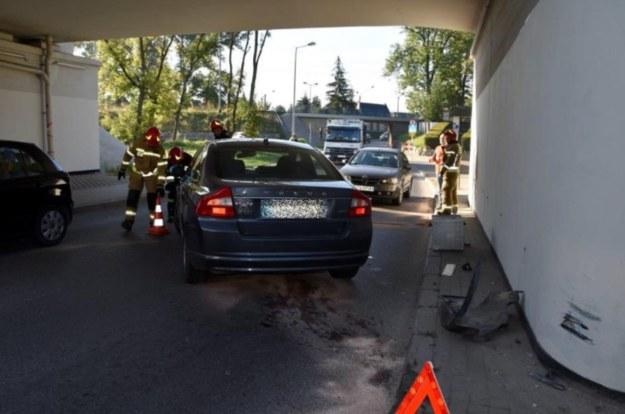 Wypadek na ul. Tuchowskiej w Tarnowie /Policja