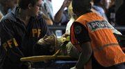 Wypadek pociągu na dworcu w Buenos Aires
