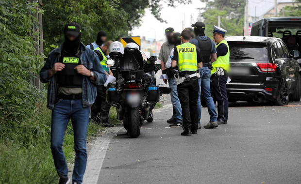 Wypadek podczas akcji CBŚP. W zderzeniu brały udział radiowozy i motocykl