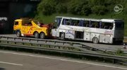 Wypadek polskiego autobusu z dziećmi w Niemczech
