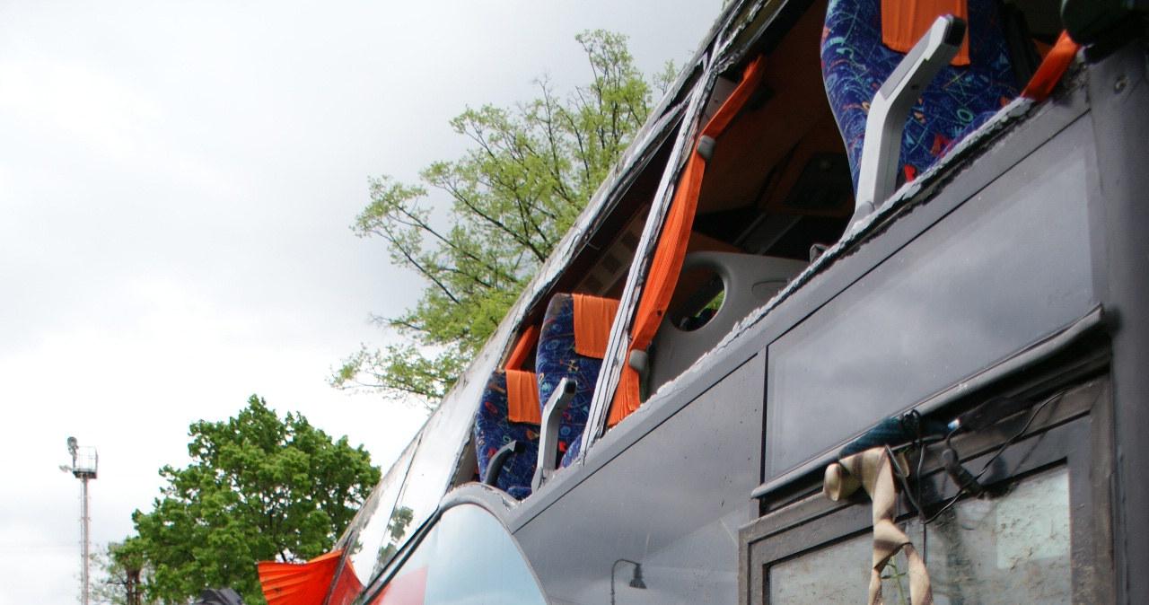 Wypadek polskiego autokaru na Słowacji