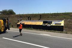 Wypadek polskiego autokaru w Serbii