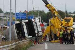 Wypadek polskiego autokaru we Francji