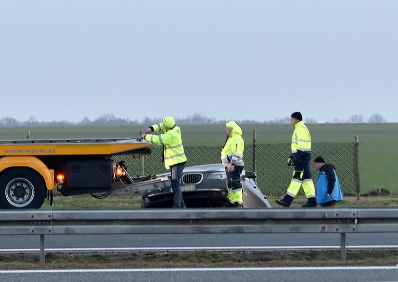Wypadek prezydenckiej limuzyny /BRZEG24.PL /East News