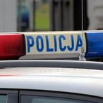 Wypadek radiowozu w Dzierlinie. Cztery osoby są ranne