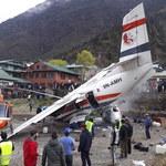 Wypadek samolotu na lotnisku w rejonie Everestu