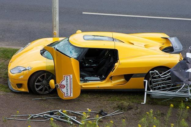 Wypadek spowodował kierowca / Fot: Paweł Jaskółka /Reporter