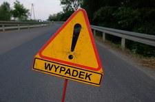 Wypadek taksówki w Krakowie - kierowca zginął, pasażer ranny