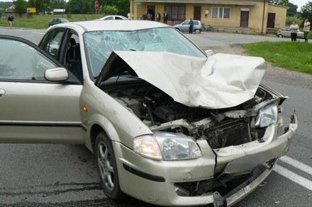 Wypadek w Brzozowie /Policja