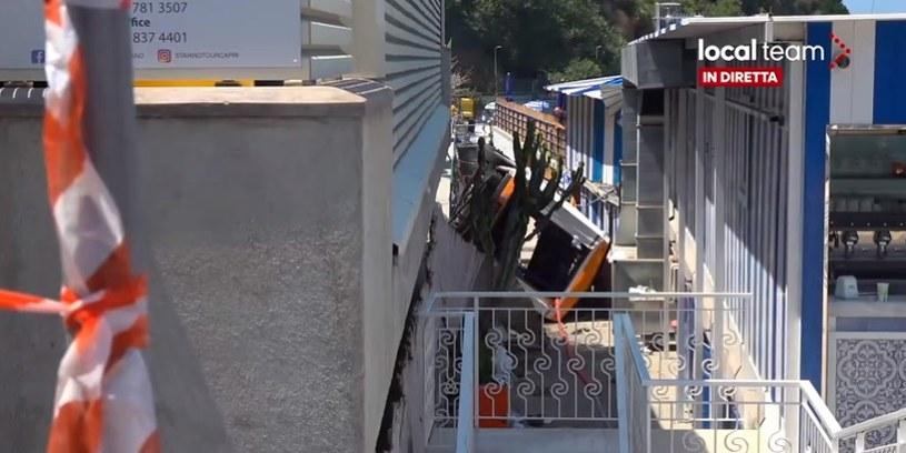 Wypadek w Capri (@localteamtv) /Twitter