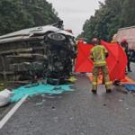 Wypadek w Cierpicach. Policjanci i prokurator nie zauważyli ciała