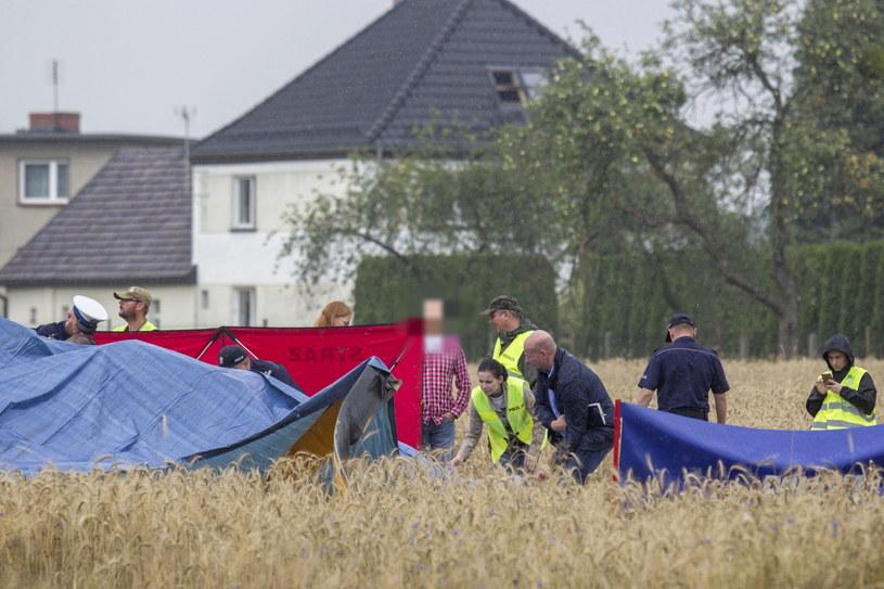 Wypadek w Domecku /Aleksander Koźmiński /PAP