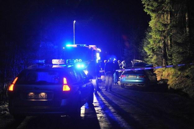 Wypadek w Dzianiszu /Adrian Gladecki /Reporter