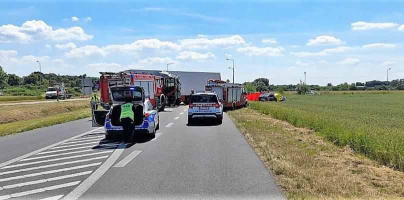 Wypadek w Elżbietowie /tusochaczew.pl /