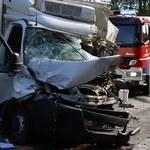 Wypadek w Garbowie: 8 osób wciąż w szpitalach