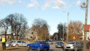 Wypadek w Malborku. 5 osób rannych
