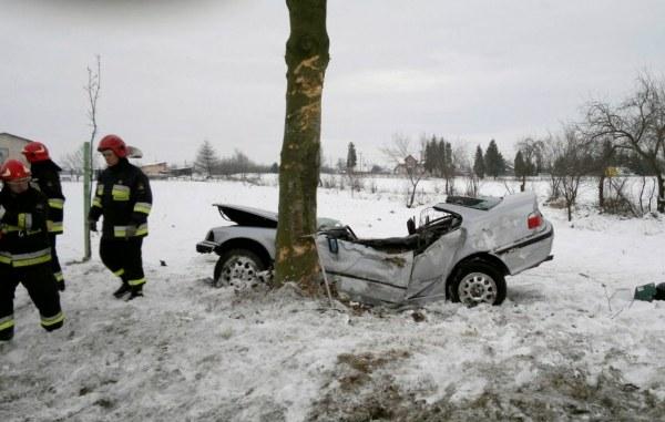 Wypadek w miejscowości Chojno Nowe /KWP Lublin