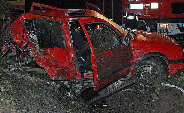 Wypadek w miejscowości Lipa /Policja