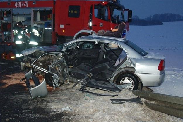 Wypadek w miejscowości Strzelce Opolskie /KWP Opole