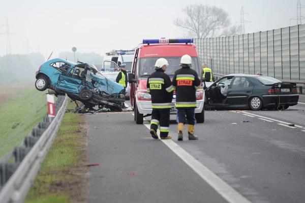 Wypadek na DK nr 10