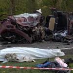 Wypadek w Ociążu. Uwaga drastyczne zdjęcia