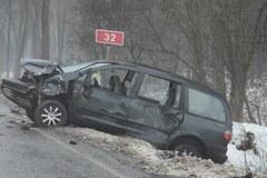Wypadek w Okuninie. Pięć osób zostało rannych