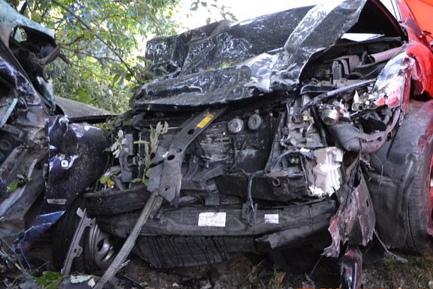 Wypadek w Skarżycach /Policja