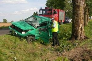Wypadek w Szymkowie / fot. Policja /