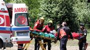 Wypadek w Tatrach. Turysta poślizgnął się na płacie śniegu na Rysach