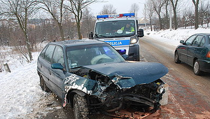 Wypadek w Wancerzowie