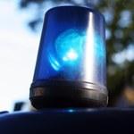 Wypadek w Warszawie z udziałem samochodu CBŚP. Dwaj funkcjonariusze ranni