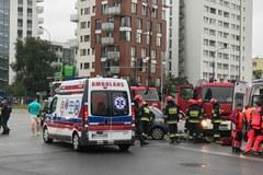 Wypadek w Warszawie