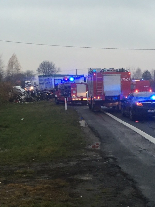 Wypadek w Wierzbinach /Gorąca Linia RMF FM - Rafał /RMF FM