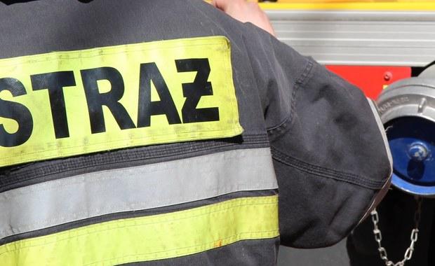 Wypadek wozu strażackiego koło Oświęcimia