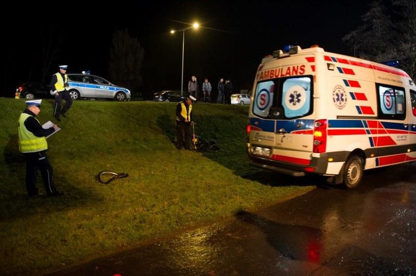 Wypadek z udziałem Daniela /TVN