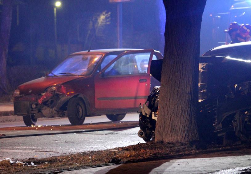 Wypadek z udziałem premier Beaty Szydło /fot. Lukasz Patrzyk /Agencja FORUM