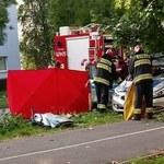Wypadek z udziałem radiowozu w Świętochłowicach. Dwaj policjanci są ranni