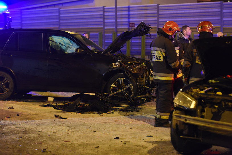 Wypadek z udziałem szefa MON /Grzegorz Olkowski /East News