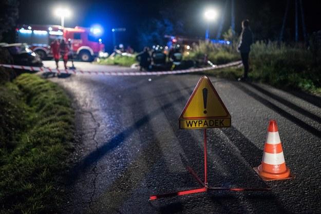 Wypadek, zdj. ilustracyjne /Tadeusz Koniarz /Reporter