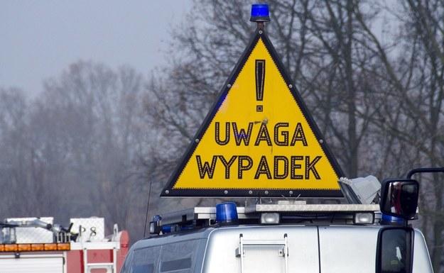 Wypadek, zdjęcie ilustracyjne /Łukasz Grudniewski /East News