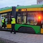 Wypadki tramwajów w Poznaniu. Kilka osób jest rannych