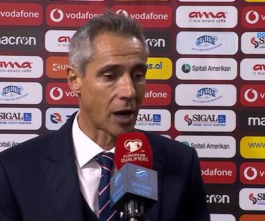 Wypowiedź Paulo Sousy po meczu Albania - Polska. WIDEO (Polsat Sport)