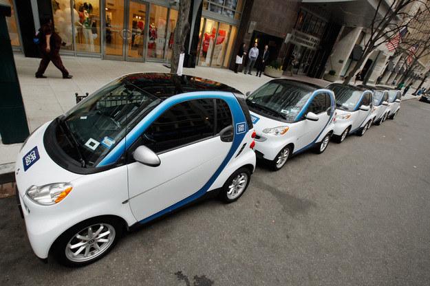 Wypożyczalnia aut /AFP